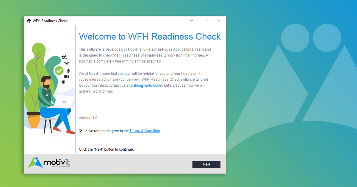 MotivIT WFH Readiness Check